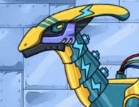 Dino Robot Lightning Parasau