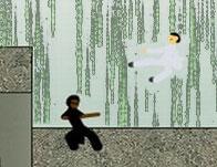 Matrix Bullet Time Fighting