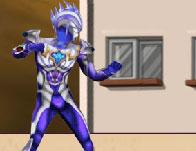 Ultramen Vs Robot